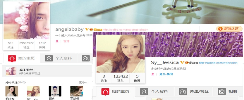 Weibo Angelababy KOL