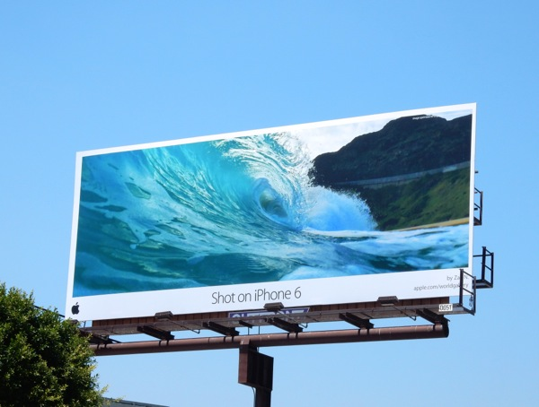 shot on iphone 6 billboard june 2015