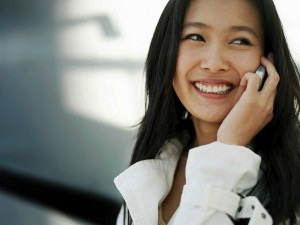 chinese on phone