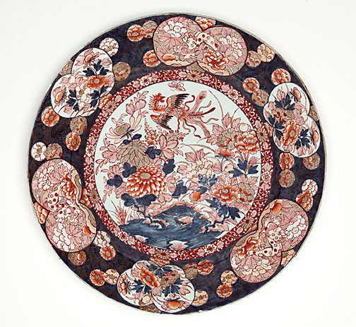 Artist : Arita ware (Japan) Title : Date : 19th century Medium Description: porcelain with underglaze blue, overglaze enamel and gilding Dimensions : Credit Line : Gift of Professor R. Clough 1985 Image Credit Line : Accession Number : 179.1985
